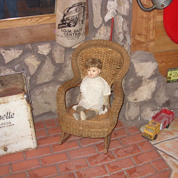 childs heywood wakefield wicker rocker