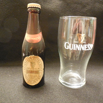 Old unopened Guinness Extra Stout Beer Bottle from late 1960's? - Breweriana