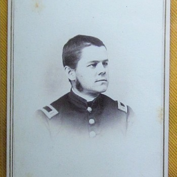 Officer in 3rd N.H.V. infantry