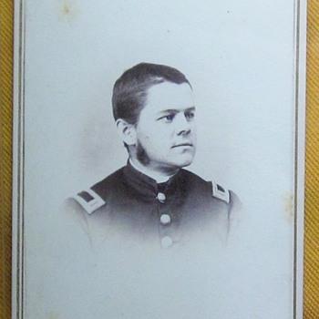 Officer in 3rd N.H.V. infantry - Photographs