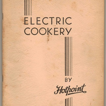 1930's GE Hotpoint Oven/Stove Manual - Paper