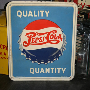 pepsi cola sign - Advertising