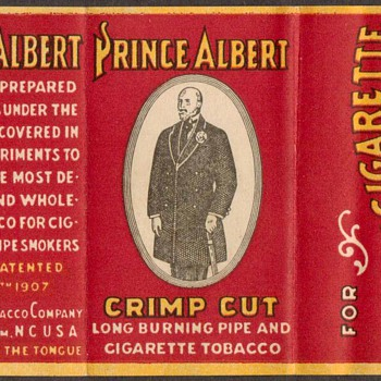 Prince Albert Tobacco Label - Tobacciana