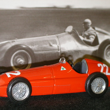 1950 Alfa Romeo 158 F1 Car - Model Cars