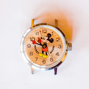 Mickey Mouse Watch, 17 jewels, Bradley, Ladies. I can't find another one like it.