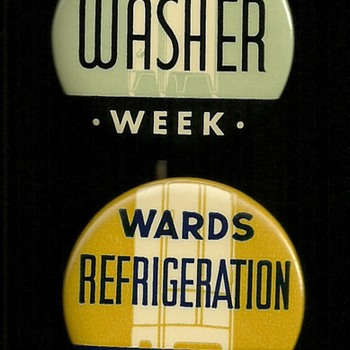Montgomery Wards Advertising Pinback Button's