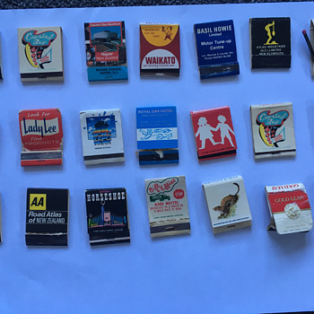 Match Boxes Lot 4