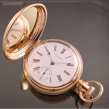 Lancaster Hunt Case Pocket Watch