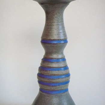 Another new piece~by Leon Nigrosh, a Worcester MA Potter/Writer - Art Pottery