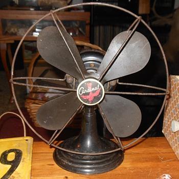 "Westinghouse ""Cardinal"" Electirc Fan"