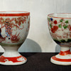 Two Cina Egg Cups