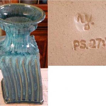 Israeli Pottery Vase Mystery - Art Pottery