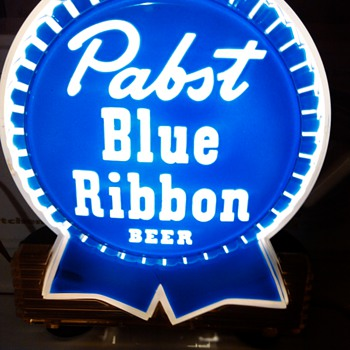 Old Pabst Blue Ribbon Light - Breweriana