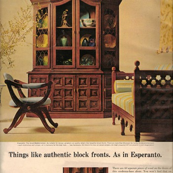 1968 - Drexel Furniture Advertisement - Advertising