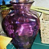 Purple Glass Vase