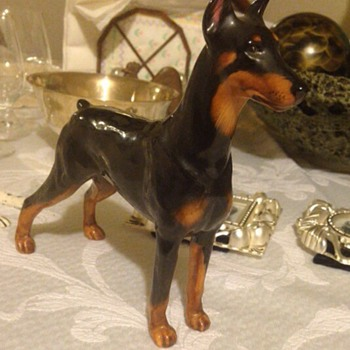 Royal doulton doberman