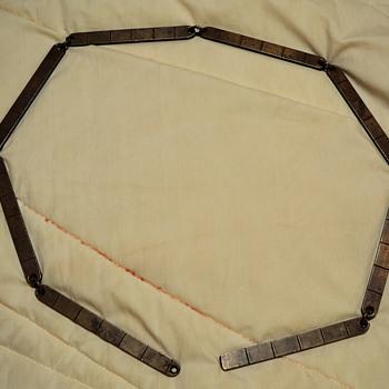 Brass Link Ruler