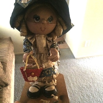 Paper mache holly hobbie?  - Dolls