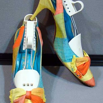 Bright Neon Colored Shoes from the 60's