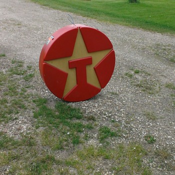 Antique texaco sign - Petroliana