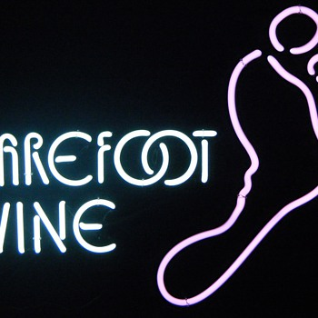 Barefoot Wine Neon Sign - Signs