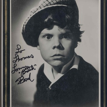 "The Little Rascles ""Tommy ""Butch"" Bond - Photographs"