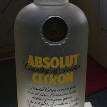 Two Liqour Related Promtional items - Bottles