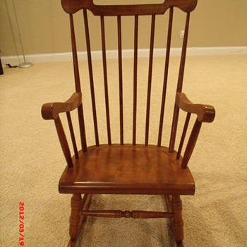 Yugoslavian rocking chair