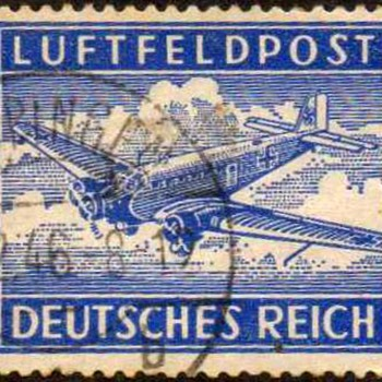 1942 - Germany Military Air Post Stamp - Stamps