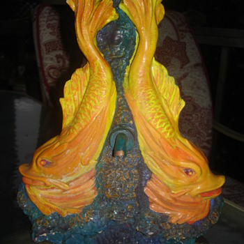 FISH FOUNTAIN :) - Art Pottery