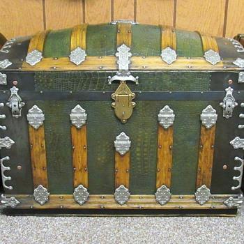 Martin Maier Alligator tin trunk - Furniture