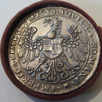 Austrian Imperator Ferdinand I. 1519-1564 silvered Medal