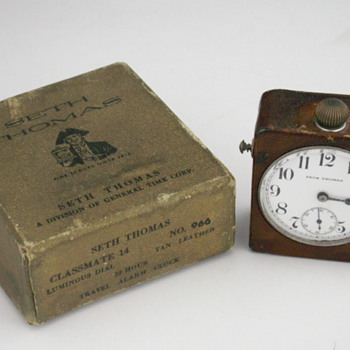Seth Thomas Travel Clock