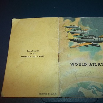 WWII POCKET ATLAS