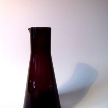 Wiesenthalhütte Jug 3003 and glasses 505 by  Klaus Breit  - Art Glass