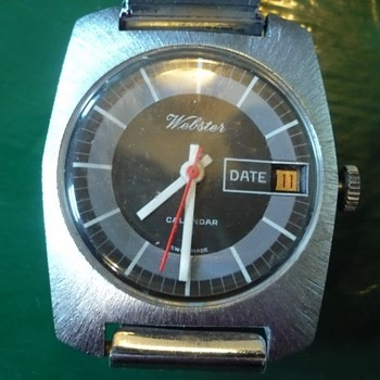 1970s Pin pallet Webstster wristwatch