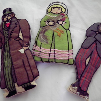 PIN CUSHIONS OR CLOTH DOLLS? - Dolls