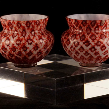 A Couple of New Small Bowls - Bohemian / Czech I think. - Art Glass