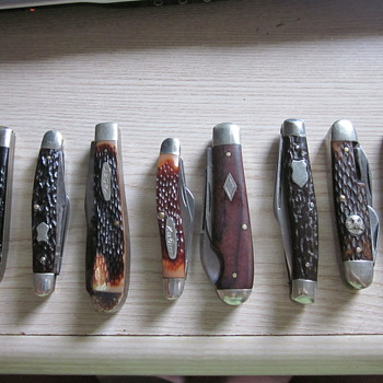 Vintage pocket knives