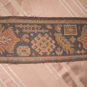 Vintage Tapestry Boarder  - Rugs and Textiles