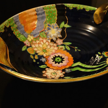 CROWN DEVON FIELDINGS BOWL - Art Pottery