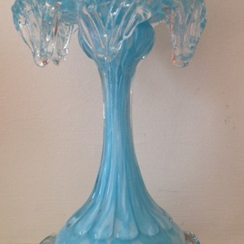 Welz blue and white fairy lamp base