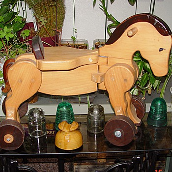 Wooden Horse - Animals
