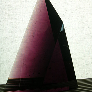 Jan Štohanzl ( 1948- ) - Art Glass