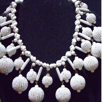 Unsigned Miriam Haskell? - Costume Jewelry