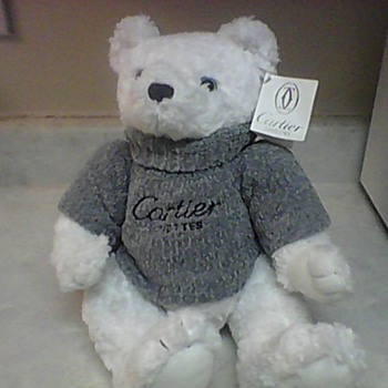 CARTIER LUNETTES TEDDY BEAR - Dolls