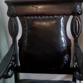 Antique rocker - need info please - Furniture