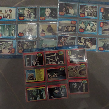 Topps Star Wars cards