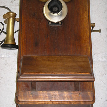 Wood Wall Phone from Argentina