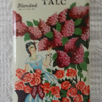 Powder Talc Tin - Advertising